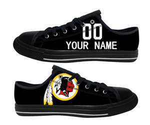 Football Washington Redskins Team Logo Fashion Rubber Shoes (14)