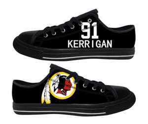 Football Washington Redskins Team Logo Fashion Rubber Shoes (15)