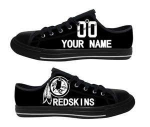 Football Washington Redskins Team Logo Fashion Rubber Shoes (17)