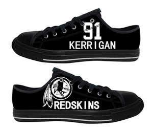 Football Washington Redskins Team Logo Fashion Rubber Shoes (18)