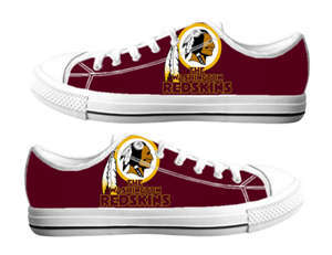 Football Washington Redskins Team Logo Fashion Rubber Shoes (19)