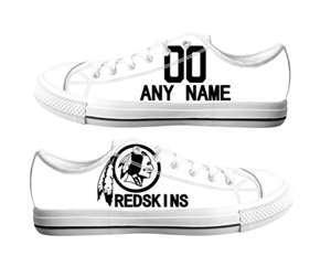 Football Washington Redskins Team Logo Fashion Rubber Shoes (2)