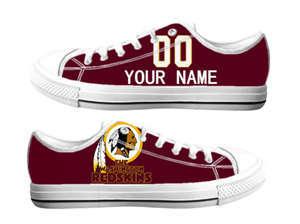 Football Washington Redskins Team Logo Fashion Rubber Shoes (20)