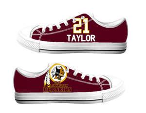 Football Washington Redskins Team Logo Fashion Rubber Shoes (21)