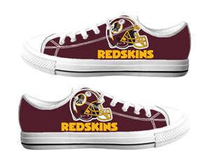 Football Washington Redskins Team Logo Fashion Rubber Shoes (22)