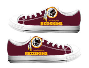Football Washington Redskins Team Logo Fashion Rubber Shoes (23)