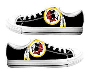 Football Washington Redskins Team Logo Fashion Rubber Shoes (4)