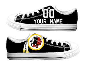 Football Washington Redskins Team Logo Fashion Rubber Shoes (5)