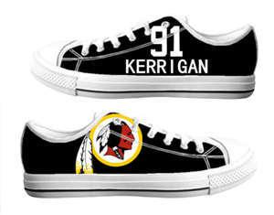 Football Washington Redskins Team Logo Fashion Rubber Shoes (6)