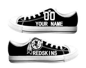 Football Washington Redskins Team Logo Fashion Rubber Shoes (8)