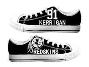 Football Washington Redskins Team Logo Fashion Rubber Shoes (9)