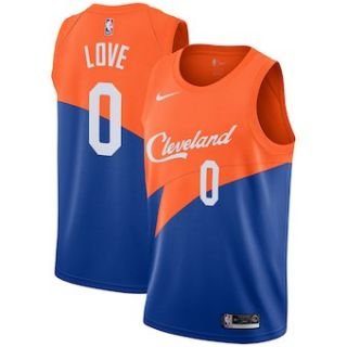 Cleveland Cavaliers #0 Kevin Love 2018-19 Swingman Basketball New City Edition Jersey Blue