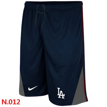 Los Angeles Dodgers Performance Training Shorts Dark blue