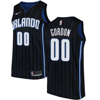 Magic #00 Aaron Gordon Black Basketball Swingman Statement Edition Jersey