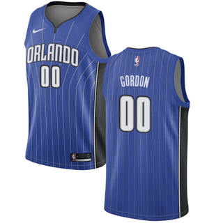 Magic #00 Aaron Gordon Royal Basketball Swingman Icon Edition Jersey