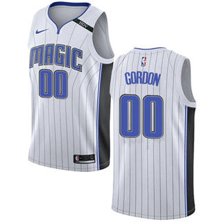 Magic #00 Aaron Gordon White Basketball Swingman Association Edition Jersey