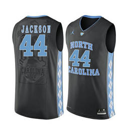 North Carolina Tar Heels #44 Justin Jackson Black College Basketball Jersey