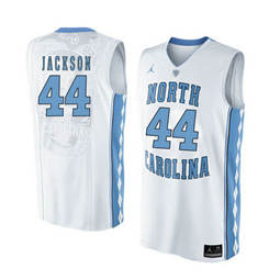 North Carolina Tar Heels #44 Justin Jackson White College Basketball Jersey