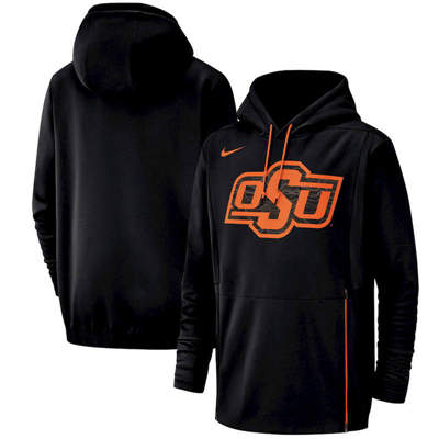Oklahoma State Cowboys Champ Drive Performance Pullover Hoodie – Black