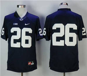 Penn State Nittany Lions #26 Saquon Barkley Navy Blue Limited Stitched NCAA Jersey