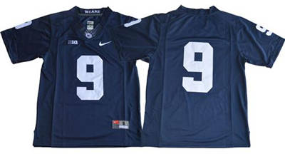 Penn State Nittany Lions #9 Trace McSorley Navy Blue Limited Stitched NCAA Jersey
