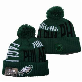 Philadelphia Eagles 2019 Team Logo Stitched Knit Hat Beanie YD 4