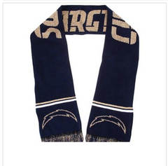 Los Angeles Chargers Football Scarves