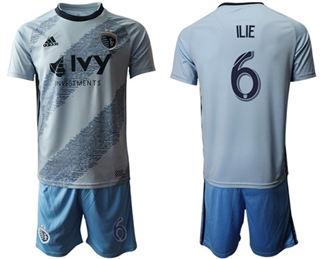 Sporting Kansas City #6 ILIE Home Soccer Club Jersey