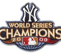 Stitched 2009 New York Yankees Baseball World Series Champions Jersey