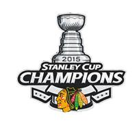 Stitched 2015 Hockey Stanley Cup Final Champions Chicago Blackhawks Jersey