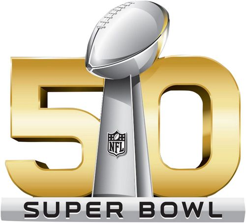 Stitched 2016 Football Super Bowl 50 Jersey Patch