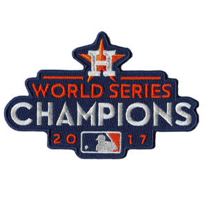 Stitched 2017 Baseball World Series Champions Houston Astros Jerseys Patch