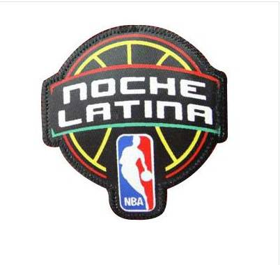 Stitched Basketball Latin Nights Jersey Patch