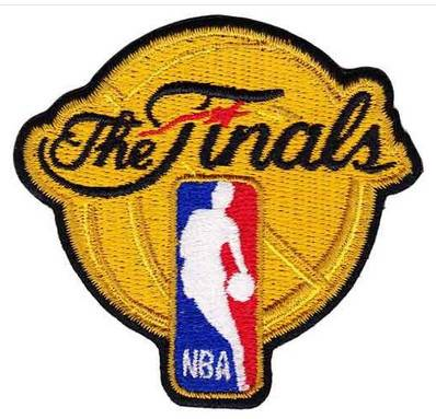 Stitched Basketball The Finals Jersey Patch
