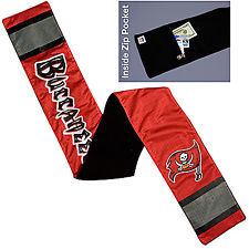 Tampa Bay Buccaneers Football Jersey Scarf