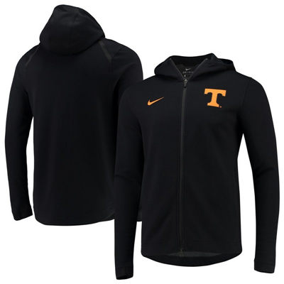 Tennessee Volunteers 2018-2019 On-Court Basketball Player Showtime Performance Full-Zip Hoodie – Heathered Black