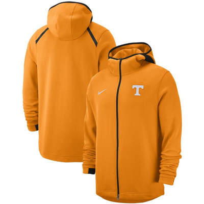 Tennessee Volunteers 2018-2019 On-Court Basketball Player Showtime Performance Full-Zip Hoodie – Tennessee Orange