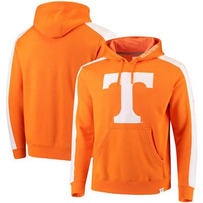 Tennessee Volunteers Iconic Colorblocked Fleece Pullover Hoodie - Tennessee Orange