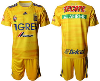 Tigres Blank Home Soccer Club Jersey