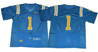 UCLA Bruins #1 Blue Under Armour Premier Stitched NCAA Jersey