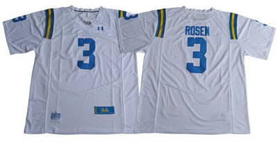 UCLA Bruins #3 Josh Rosen White Under Armour Premier Stitched NCAA Jersey