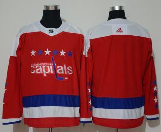 Washington Capitals Blank Red Alternate  Jersey
