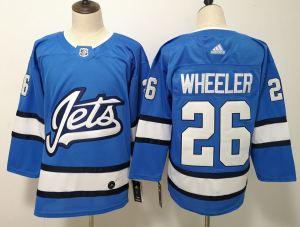 Winnipeg Jets 26 Blake Wheeler Blue Alternate  Jersey