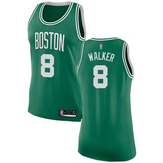 Women's Celtics #8 Kemba Walker Green Basketball Swingman Icon Edition Jersey