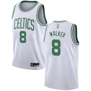 Women's Celtics #8 Kemba Walker White Basketball Swingman Association Edition Jersey