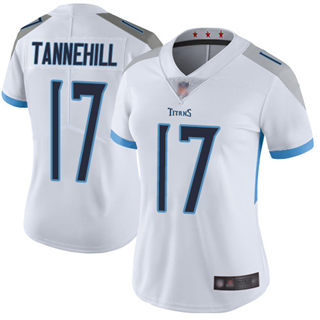 Women's Titans #17 Ryan Tannehill White Stitched Football Vapor Untouchable Limited Jersey