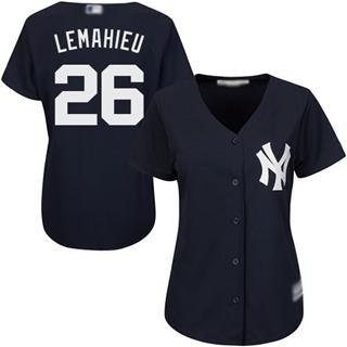 Women's Yankees #26 DJ LeMahieu Navy Blue Alternate Stitched Baseball Jersey
