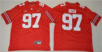 Youth Ohio State Buckeyes #97 Joey Bosa Red Stitched NCAA Jersey