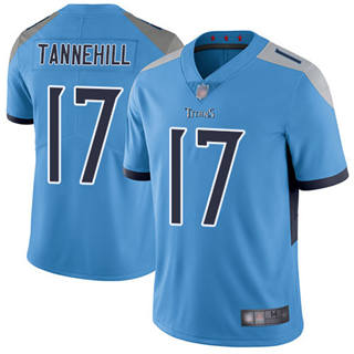 Youth Titans #17 Ryan Tannehil Light Blue Alternate Stitched Football Vapor Untouchable Limited Jersey