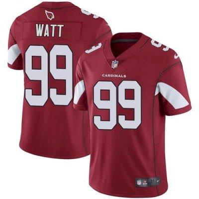 Men's Arizona Cardinals #99 J.J. Watt Red Football Vapor Untouchable Limited Stitched Jersey